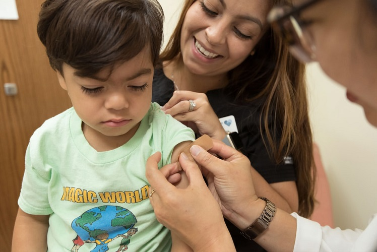 child-vaccination-doctor-mother